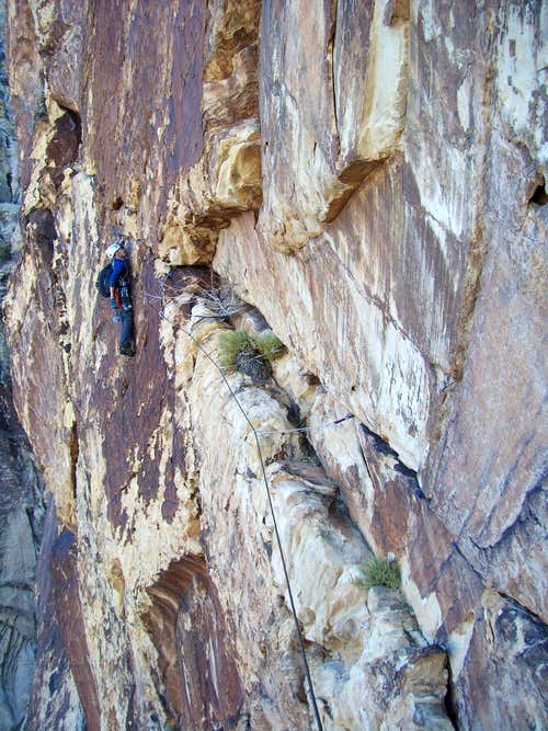 Resolution Arete, 5.11d, 20 Pitches