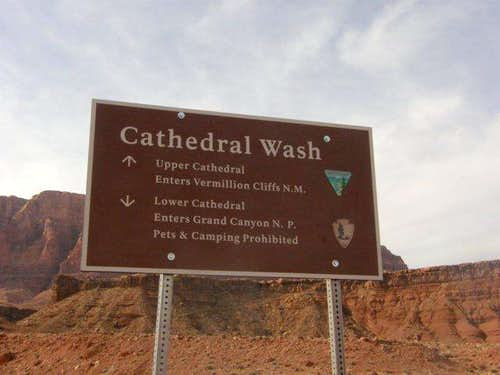 Cathedral Wash TH