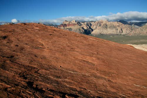 Red Slopes and Red Rocks
