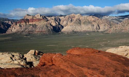 Red Cap Summit View-- West