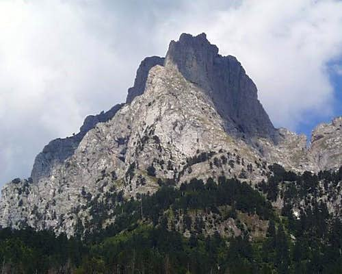 Sub Peak of Mt. Kollates, Valbona Gorge