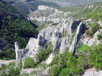 Vranjska Draga canyon