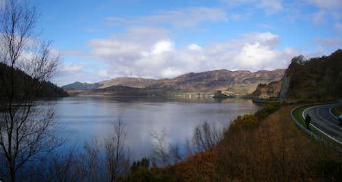 Loch Duich Panorama