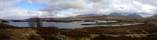 Rannoch Moor panorama