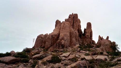 a group of pinacals on the Flatiron