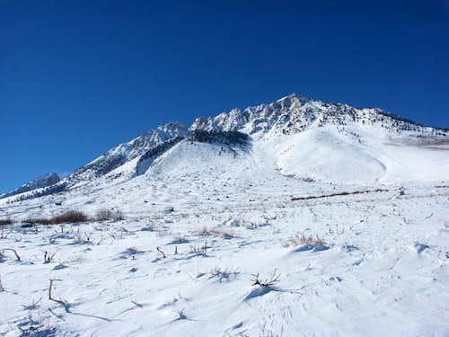 Eastern slopes of Basin...