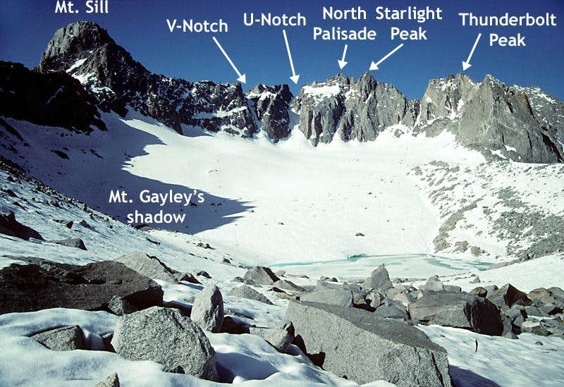 The Palisade Glacier