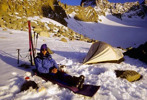 Ski Camp, Palisade Glacier