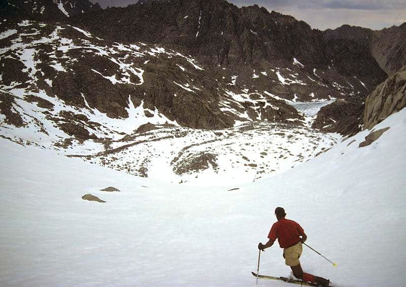 Skiing the Thunderbolt Glacier