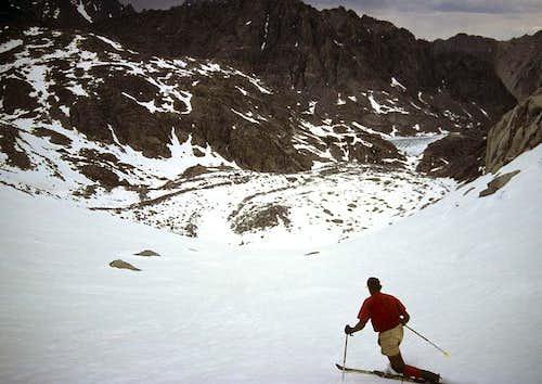 Skiing the Thunderbolt Glacier