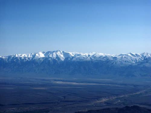 White Mountain Peak from high...