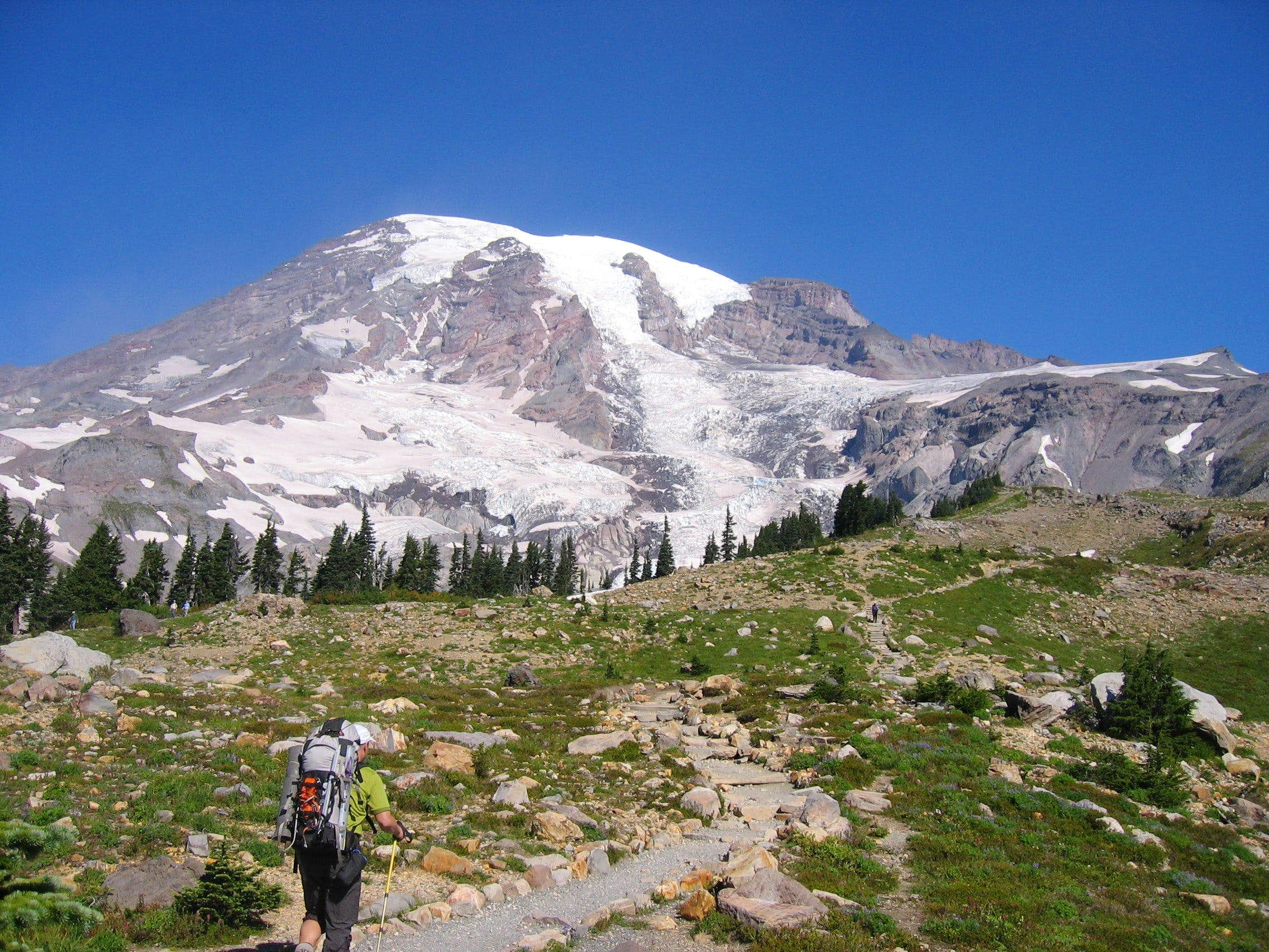 So you want to climb Mt Rainier.