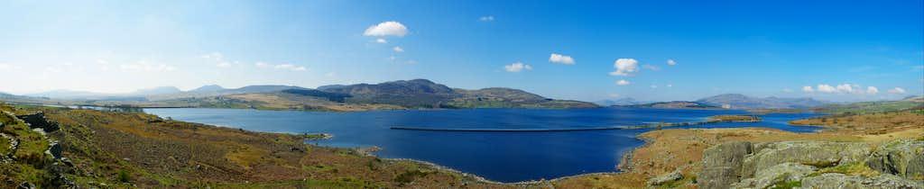 Llyn Trawsfynydd Panorama