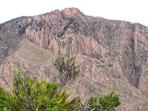 Hunter Peak from the...