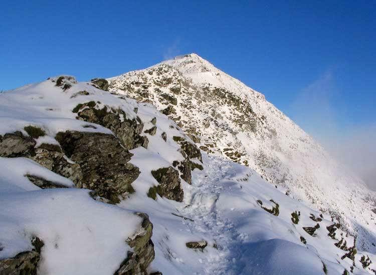 Snowdon Summit from Bwlch Main