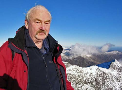 SP'er on the Summit of Snowdon