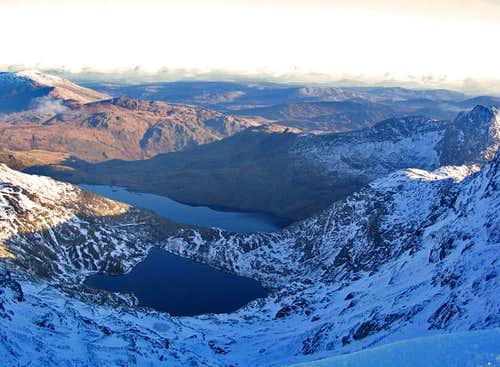 View East from Snowdon