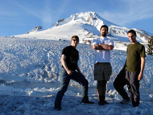 Mount Hood - Group Photo