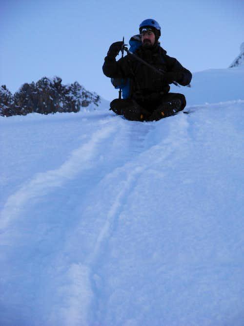 Mount Hood - EastKing Glissade