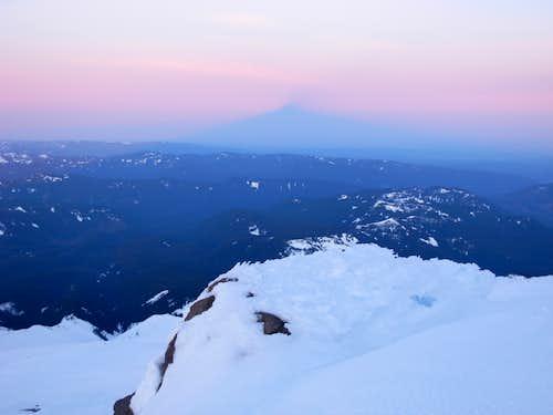 Mount Hood's Shadow