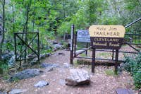 Holy Jim Trailhead