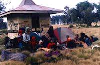 Cikasur camping area (shelter...