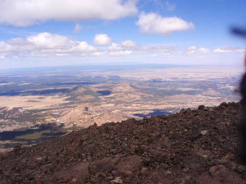 Summit of Humphreys Peak