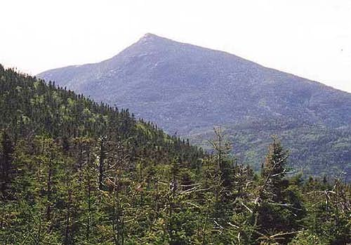 Looking west at Mt. Garfield...
