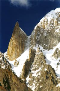 Lady finger Ultar Peak Hunza