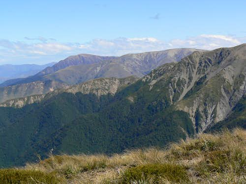 Mt Somers from Mt Hutt