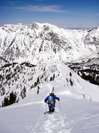 Skiing The American Fork Twins