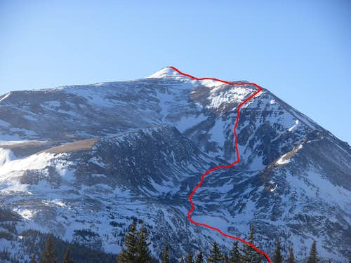 Upper Headwall