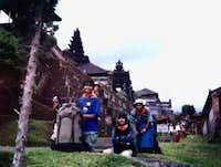 at Besakih Temple...