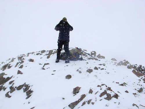 Finding the summit in a white out