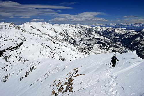 North Cirque, Box Elder Peak, Utah