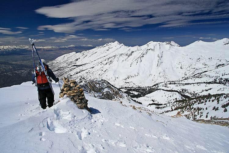 North Cirque, Box Elder Peak, Utah