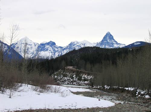 View from Hwy 2