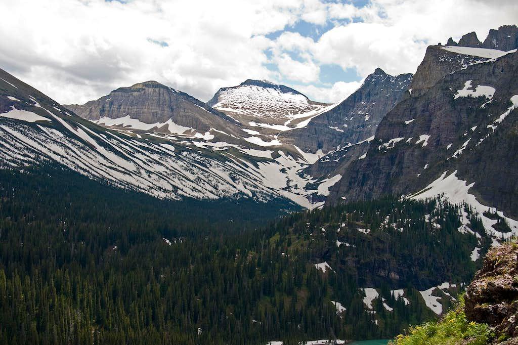 Piegan Mountain in a Landscape...