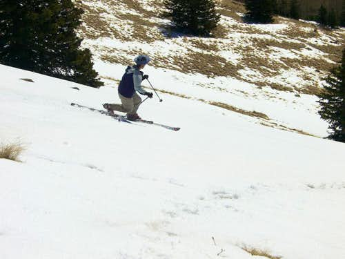 Scott skiing Chicoma