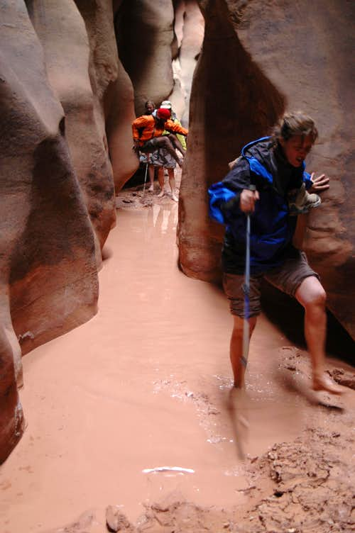 No avoiding the water crossings
