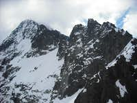 Spissky stit-right (2483m) and Maly Pysny stit-left (2590m)