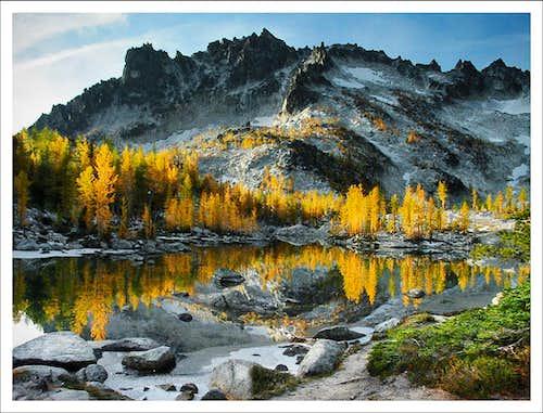 McLellan Peak and Leprechaun Lake
