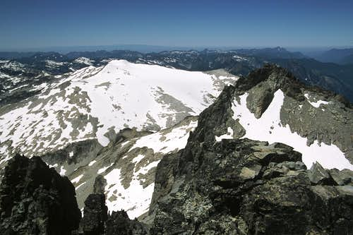 Mt. Hinman from Mt. Daniel