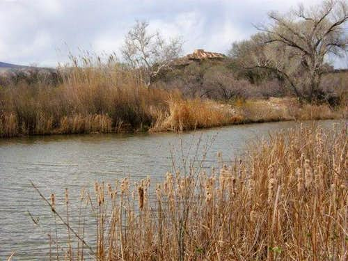Tuzigoot and the Verde River