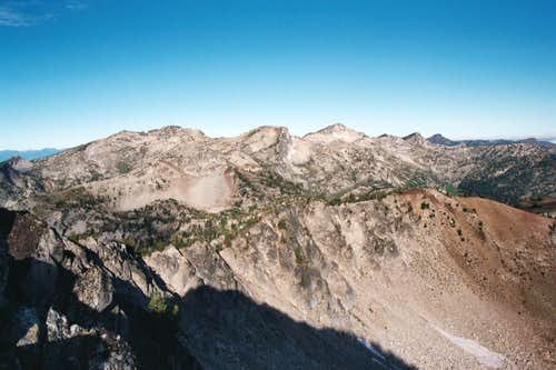 West Ridge of Peak 8,587