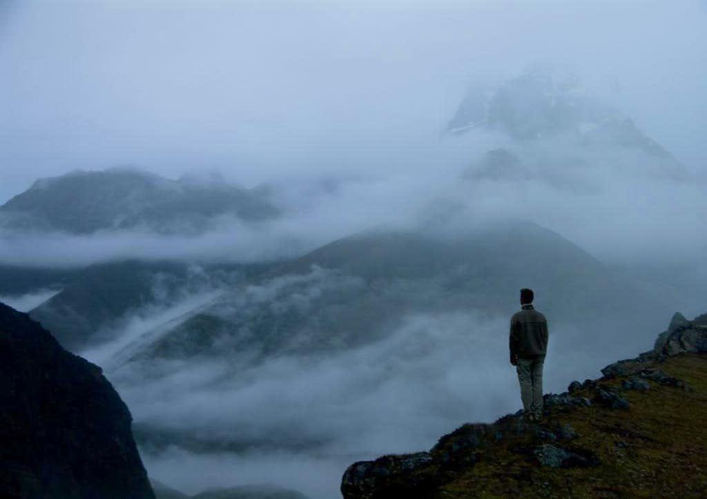 Mist over Khumbu