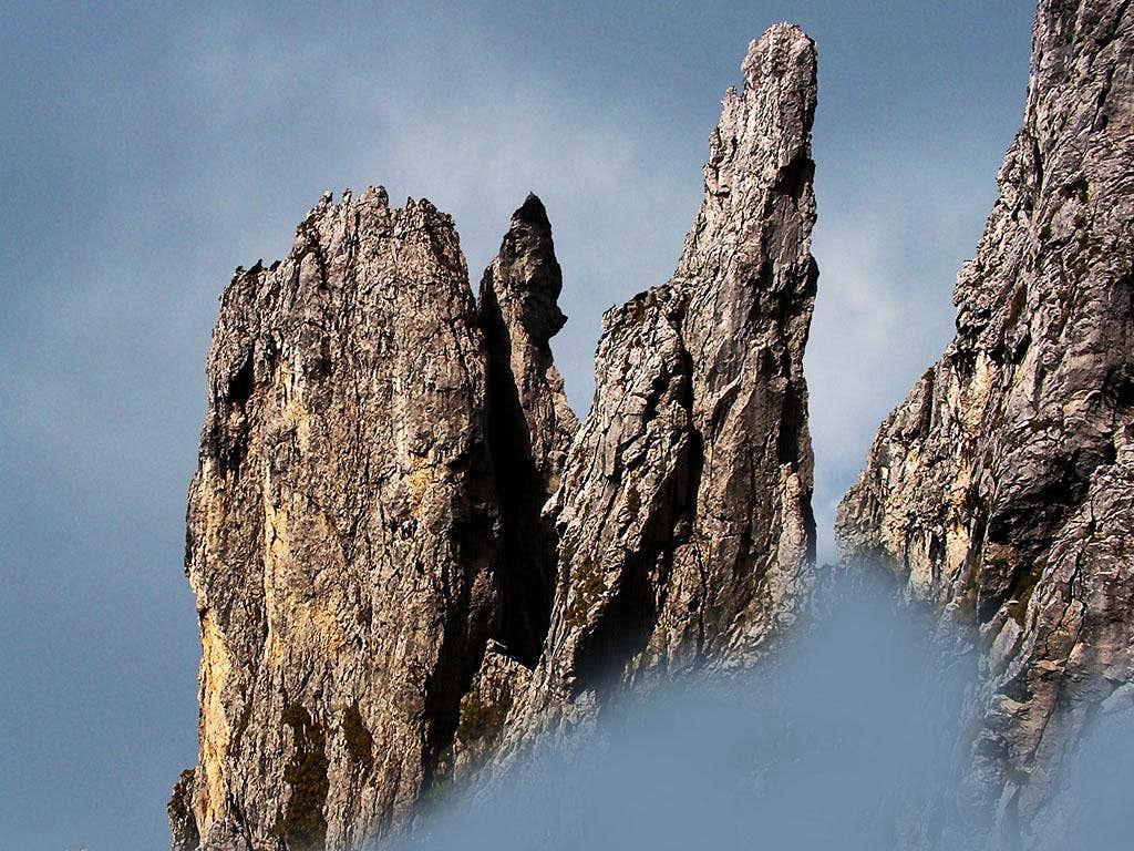 Val Tesa spires