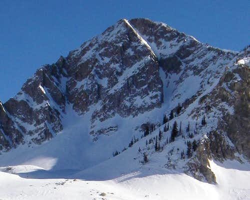 The NW Couloir
