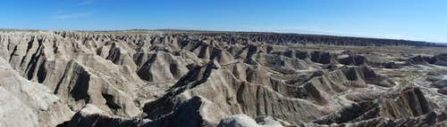Badlands NP from the Door