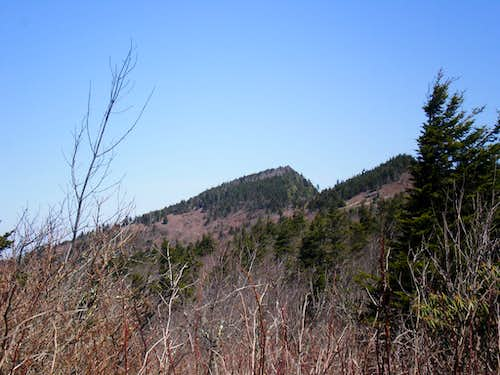 Celo Knob and Horse Rock